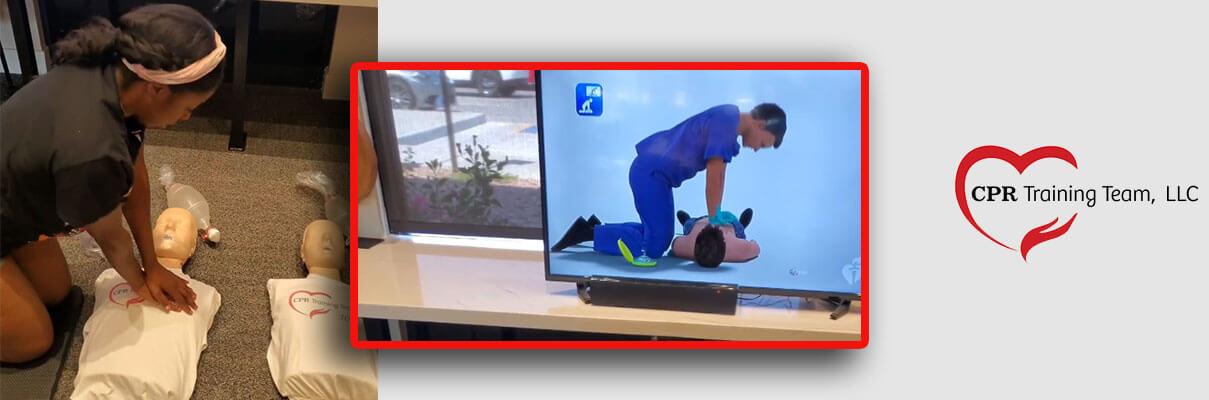 Practice CPR video